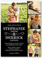 picture wedding invitations classic wedding invitations shutterfly