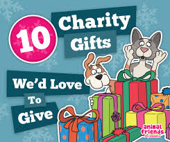10 charity gifts we d to give animal friends