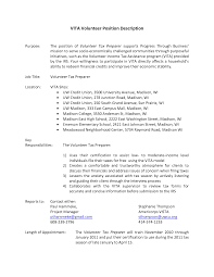 Sample Tax Accountant Resume by Resume Tax Preparer Resume
