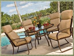 Patio Chair Cushion by Outdoor Courtyard High Back Chair Cushions Home Decorations Ideas