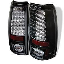 chevy silverado tail lights chevy silverado 2003 2006 black led tail lights a103t1e0109