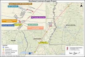 Map Of Parishes In Louisiana by Ferc Approves Tgp U0027s Southwest Louisiana Supply Project 2016 12
