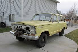 wagoneer jeep lifted 1966 jeep wagoneer original paint and factory winch for sale