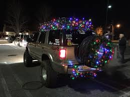 How To Christmas Lights On Your Car Or Truck Youtube