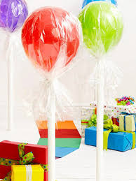 Candyland Theme Decorations - homemade candyland party decorations lollipops made with long