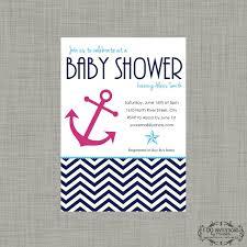 photo baby shower invitations nautical image