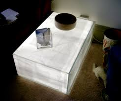 glow tank coffee table 8 steps with pictures