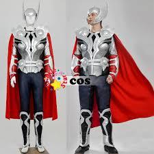Thor Halloween Costumes Aliexpress Buy Superhero Costume Avengers Halloween