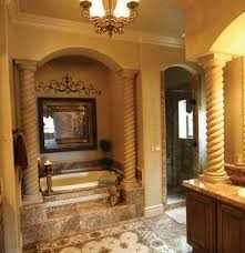 mediterranean bathrooms with columns bathroom columns by