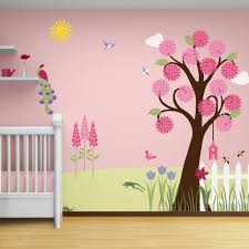animal stencils for painting walls of kids room kids wall murals splendid garden wall mural stencil kit