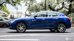 blue maserati maserati levante s 16 august 2016 autogespot