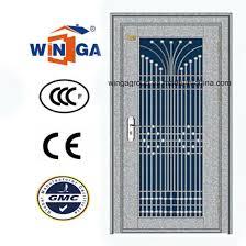 Steel Exterior Security Doors China Design Stainless Steel Exterior Security Door W Gh 09
