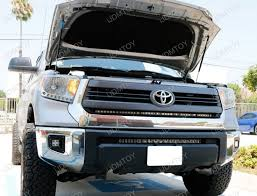 2014 tundra led light bar 1 piece lower bumper grill mount for 2014 up toyota tundra