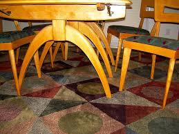 Heywood Wakefield Dining Room Set Heywood Wakefield Triple Wishbone Dining Table Detail Flickr