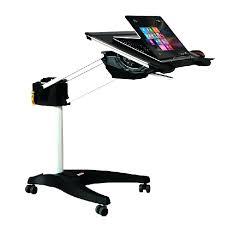 Bedside Laptop Desk Desk Seville Classics Web162 Mobile Laptop Desk Cart Seville