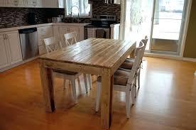table de cuisine en palette table salle a manger palette table en palettes 23 faire une table