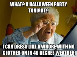 Halloween Party Meme - a halloween party tonight