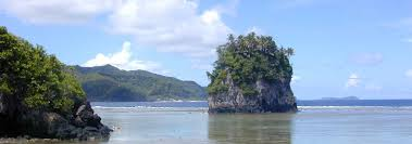 American Samoan Flag Google Map Of American Samoa Nations Online Project