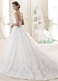 aline wedding dresses buy discount stunning tulle organza sweetheart neckline a line