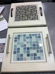Repurpose Cabinet Doors Serving Trays Made From Repurposed Cabinet Doors Backsplash Tile