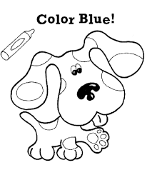 bright ideas blues clues coloring pages free printable for kids