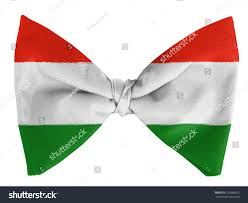hungary hungarian flag on bow tie stock photo 120860653 shutterstock