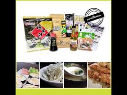 kit cuisine japonaise kit de cuisine japonaise kit maki sushi co chez box bolgourmand