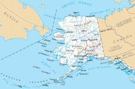 alaska major cities map alaska map map of alaska