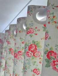 Handsewn Blackout Lined Curtains In Cath Kidston Spray Flowers - Cath kidston bedroom ideas