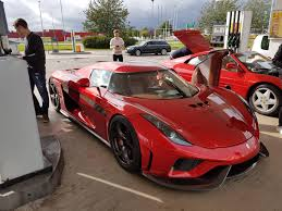 Vwvortex Com Someone Spotted The Koenigsegg Regera At A Gas