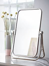 Ornate Vanity Table Mirrors Interesting Free Standing Table Top Mirror Free Standing