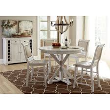 distressed dining room sets round distressed dining room table bellacor