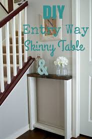 table handsome best 25 skinny console table ideas on pinterest