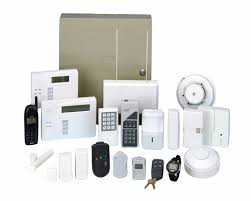 smart home systems security systems smart home security system flat icons set