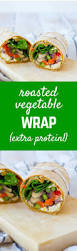 Roasted Vegetable Recipes by Roasted Vegetable Wrap With Feta And Pesto Rachel Cooks