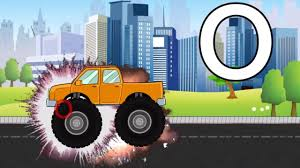 monster truck videos for kids youtube help your little one learn the alphabet with our monster truck