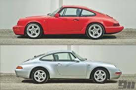 porsche old models opinion is the porsche 964 carrera a better car than the 993