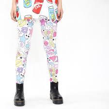 gap patterned leggings acdc rag rakuten global market fashion showy kava dream cute