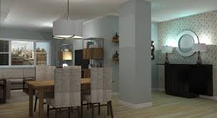 apartment dining room industrial modern loft apartment living u0026 dining room design a