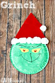 grinch paper plate craft simply today life