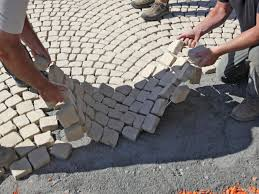 Tiling A Concrete Patio by How To Install A Patio Walkway How Tos Diy