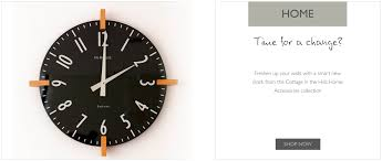 british made clocks homeware and gifts for the home from cottage