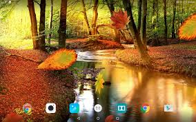 autumn forest live wallpaper android apps google play