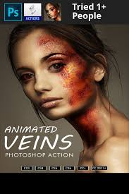 tutorial photoshop cs3 professional animated veins v2 photoshop action photoshop and photoshop tutorial