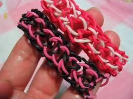 bracelet made with rubber bands images How to make rubber band bracelets without the loom feltmagnet jpg