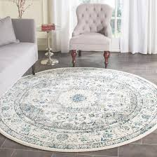 Rounds Rugs 9 Ft Rugs 6 Evoke Gray Ivory 9 Ft X 9 Ft Area Rug