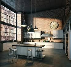 cuisine style loft industriel cuisine industrielle l élégance brute en 82 photos