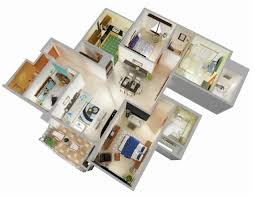 Apartment Layout Design General Home Layout Ideas 25 Three Bedroom House Apartment