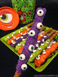 Fun Halloween Appetizer Recipes by Halloween Recipes Monster Treats The 36th Avenue