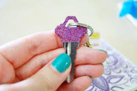 mon makes things pretty keys diy